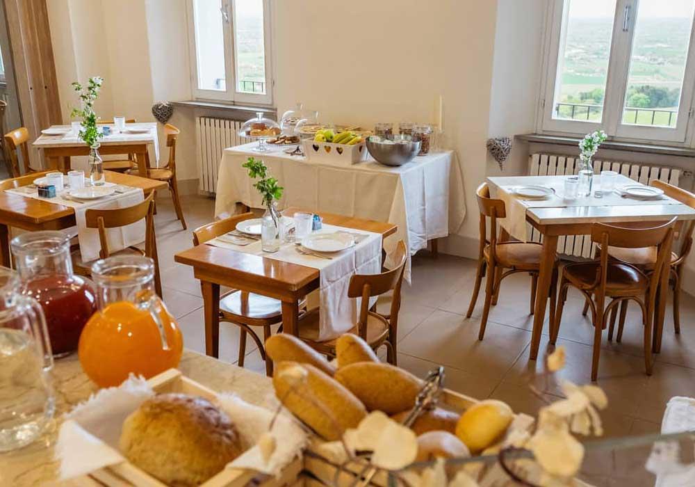 Hotel Panorama Bertinoro buffet colazione