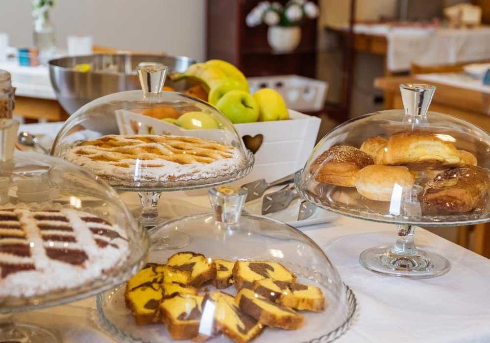 Hotel Panorama Bertinoro colazione torte